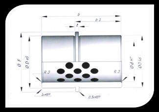 Bucha de guia para porta molde